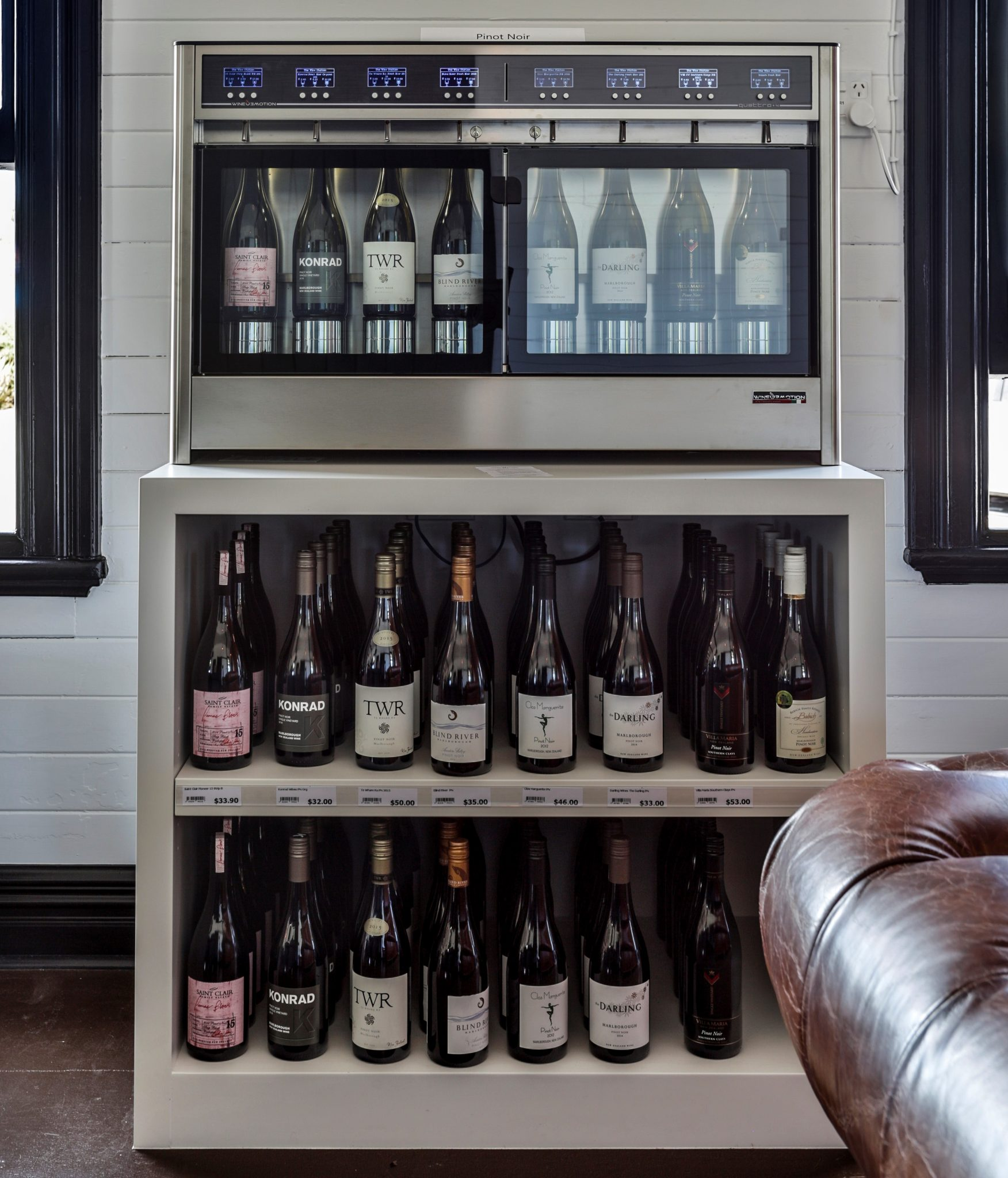 "The Wine Station & Cantwell Joinery Recognised With ""Best Use Of Colour"" Award"