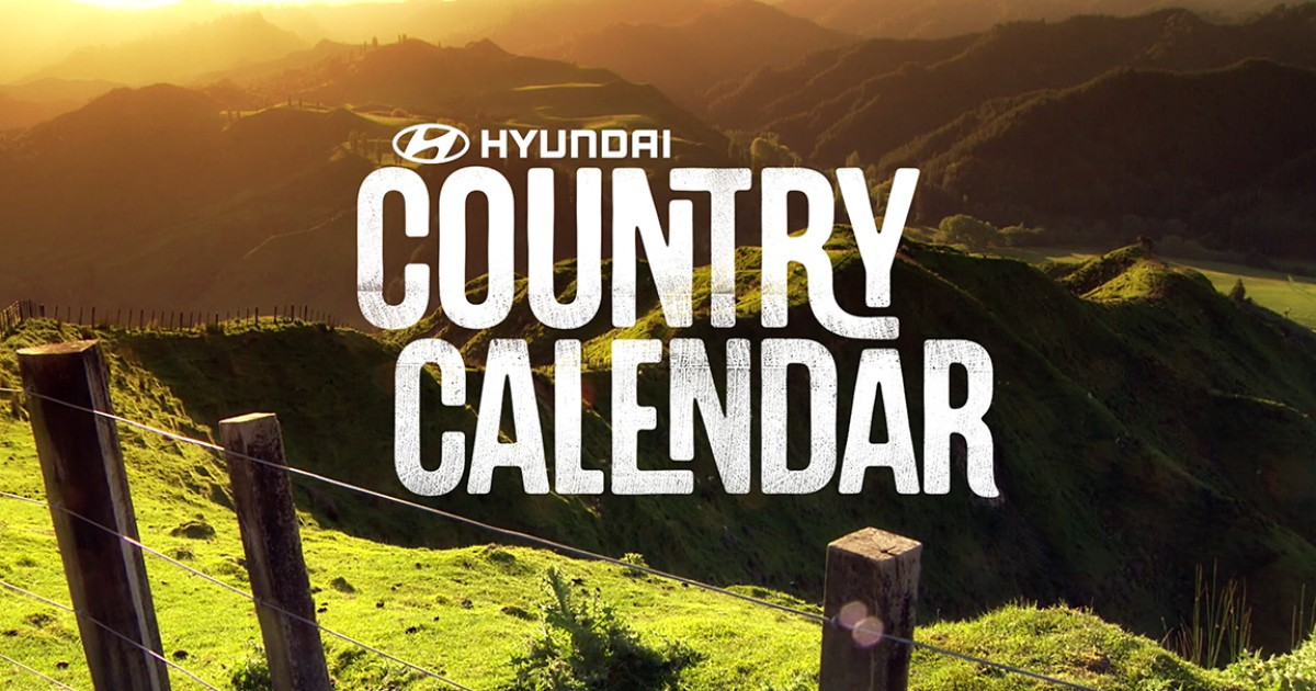 "Featured On TVNZ1 ""Country Calendar"""